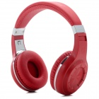 Bluedio H+ Bluetooth V4.1 Headphones w/ Microphone / FM / TF Card - Red