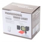 10-LED 2375lm White + Yellow Light Video Camera Speedlite - Black