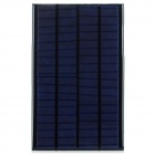 DIY 6V 2.5W Solar Powered Panel - Black