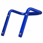 Creative Bike Bicycle Saddle Tail Mounted Aluminum Alloy Dual Water Bottle Holder - Blue