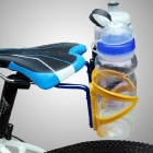 Bike Bicycle Saddle Tail Mounted Dual Water Bottle Holder - Blue
