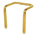 Creative Bike Bicycle Saddle Tail Mounted Aluminum Alloy Dual Water Bottle Holder - Gold