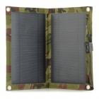 Portable Foldable 10W 5V USB Solar Panel Charger - Deep Camouflage