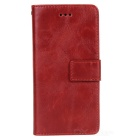 "2-In-1 Protective PU + PC Flip-Open Case w/ Card Slots for IPHONE 6 4.7"" - Red"