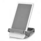 Handy Universal Desktop Plastic Cellphone Holder for IPHONE 6, Samsung, HTC + More - Gray + White