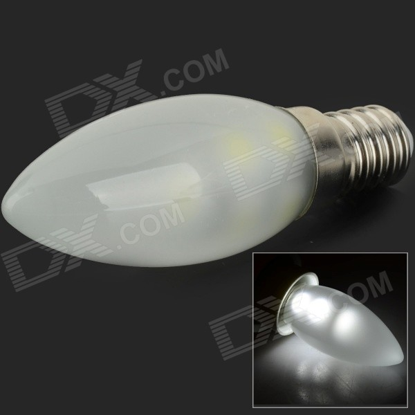 HH-146 E14 1W LED Candle Bulb Neutral White 140lm SMD 5050 (220~240V)