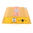 "Cellphone GSM Signal Amplifier Booster w/ 1.8"" Display - Golden"