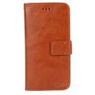 2-in-1 Detachable Protective PU + PC Flip-Open Case w/ Card Slots for IPHONE 6 - Brown