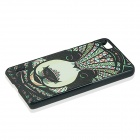 Panda Pattern PC Back Case for Huawei Honor 6 - Green + Multicolored