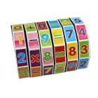 Children's Educational Rotation Count Digital Cube Toy - MultiColored
