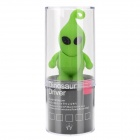 Cute Cartoon Man Style USB 2.0 Flash Drive - Green + Black (16GB)
