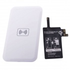 Wireless Charger Receiver for Samsung Galaxy Note 4 - White + Black