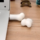 YB-16 Mini Cartoon Bone Style USB 2.0 Flash Drive - White (16GB)
