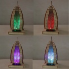 DIY Yacht Hotel Style Colored Drawing + Automatic Solar Light - Yellow