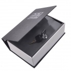 Disguised Dictionary Style Security Safes Cash Stash Safe Box - Black