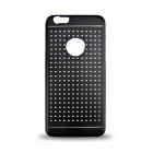 Hollow-out Ultra-thin Protective Metal Case Cover for IPHONE 6 - Black