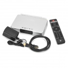 ZIDOO X9 android google TV player com ram de 2GB, 8GB ROM - prata (us)
