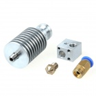 Geeetech All Metal Long-distance J-head for Bowden Extruder - Silver (0.35mm Nozzle / 3mm Filament)