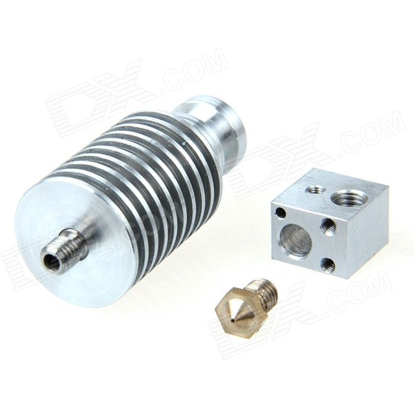 Geeetech Short-distance J-head - Silver (0.3mm Nozzle /3mm Filament)
