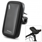 Protective Plastic + PVC Phone Bag + Bicycle / Motorcycle Mount Holder for MOTO Nexus 6 - Black