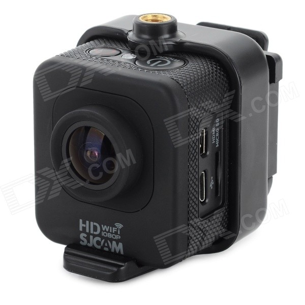 "Portable 2/3"" CMOS 1.5"" LCD 170' Wide-angle 1080P Sport Camera - Black"