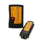 JAKEMY JM-468AL Network Cable Tester - Black + Orange + Red