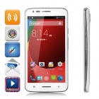 V18 Android 4.4.2 Dual Core 3G Phone w/ 4.5″ FWVGA IPS, 1GB ROM, GPS, Dual Cam, BT, WiFi – White