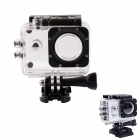 PANNOVO G-802 Waterproof Camera Housing Case for SJ4000 / SJ4000 Wi-Fi Series - Translucent White