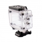 PANNOVO G-802 Waterproof Camera Case for SJ4000 - Translucent White