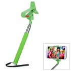 Universal Handheld Clip-on Selfie Monopod for Cell Phone - Green