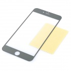 0.3mm 2.5D protector de pantalla para IPHONE 6 PLUS - plata + transparente