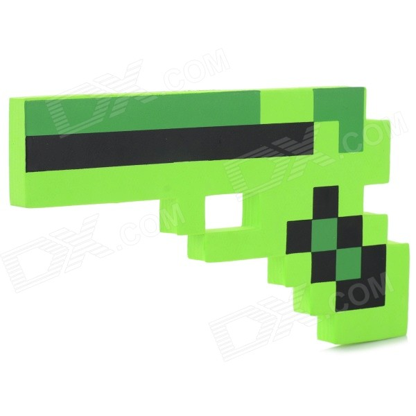 EVA Sponge Gun Toy for Children / Kids - Green