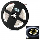 JR-LED 72W Light Strips White Light 6300K 7000lm SMD 3014 w/ Controller - White + Black (DC 12V)