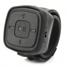 Portable Sports Watch Style MP3 Player w/ TF / 3.5mm / Mini USB - Black