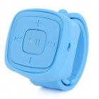 Portable Sports Watch Style MP3 Player w/ TF / 3.5mm / Mini USB - Blue