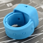 Portable Sports Watch Style MP3 Player w/ TF, 3.5mm, Mini USB - Blue