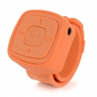 Portable Sports Watch Style MP3 Player w/ TF / 3.5mm / Mini USB - Orange