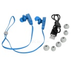 DONSCORPIO smushroom HD bluetooth V4.0 in-ear hoofdtelefoon w / mic - Blauw