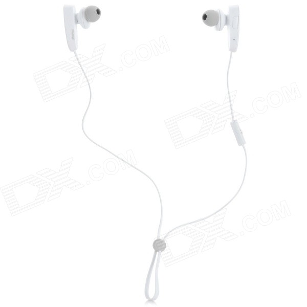DONSCORPIO sMushroom HD Bluetooth V4.0 In-Ohr-Kopfhörer w / Mikrofon - White + Light Grey