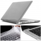Mr.northjoe Ultra Slim Crystal Hard Case + Keyboard Cover + Anti-dust Plug Set for MACBOOK PRO 13.3""