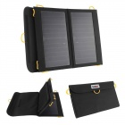 Conbrov ECE-613 Portable Taitettava 13W Dual-Port Solar Powered Panel Charger - Musta