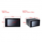 "Joyous Dual-Core Android 4.4.4 6.2"" Car DVD GPS BT WiFi 3G - Black"