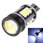 MZ T15 7.5W 580lm 12-SMD 5630 + 1.5W LED CANBUS Error-Free White Constant Current Car Parking Lamp