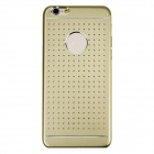Hollow-out Ultra-thin Protective Metal Back Case for IPHONE 6 - Golden