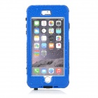 "Waterproof Touch ID Enabled PC + Silicone Case for IPHONE 6 Plus 5.5"" - Blue + Black"