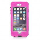"Waterproof Touch ID Enabled PC + Silicone Case for IPHONE 6 Plus 5.5"" - Deep Pink"