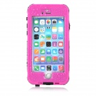 "Waterproof Touch ID Enabled PC + Silicone Case for IPHONE 6 4.7"" - Deep Pink"