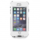 """Waterproof Touch ID Enabled PC + Silicone Case for IPHONE 6 Plus 5.5"""" - White + Black"""