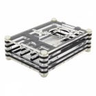 Acrylic Rainbow Case for Raspberry Pi 2 Model B & B+ - Transparent