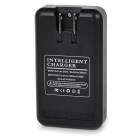 """4500mAh"" Battery + US Plugss Battery Charger for Samsung Note 4 - Black"
